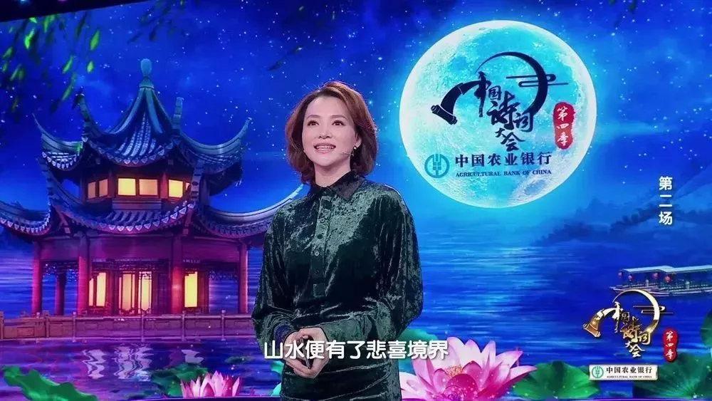 《中国诗词大会》董卿教科书式唯美开场白,堪称作文典范!