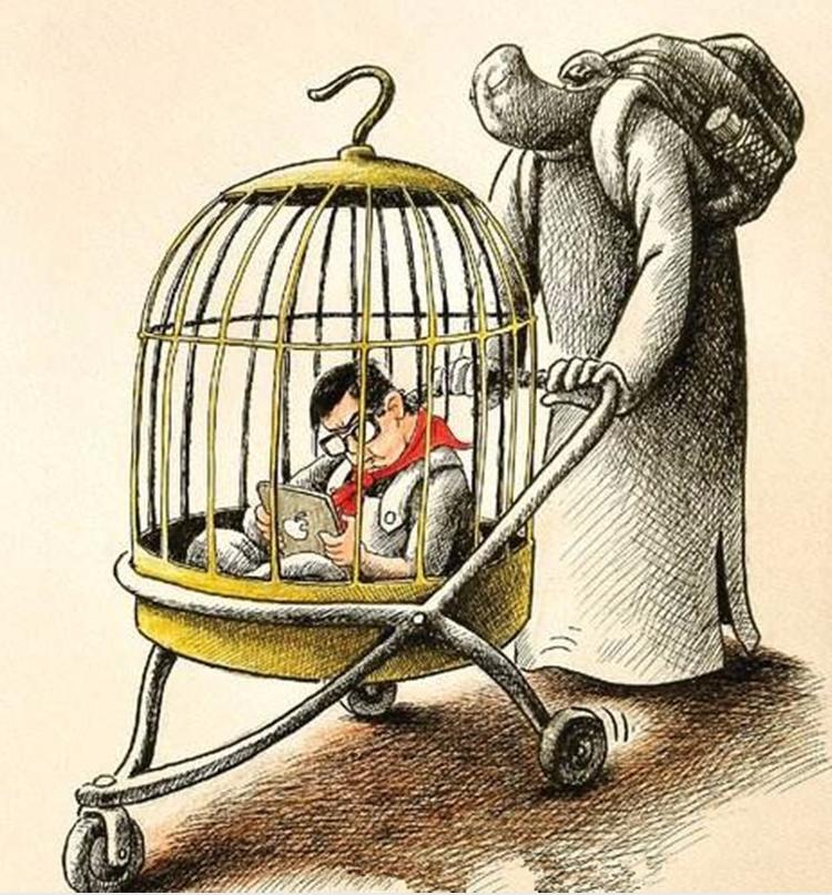 """别让孩子纠结死在""""第三只笼子""""里!"""